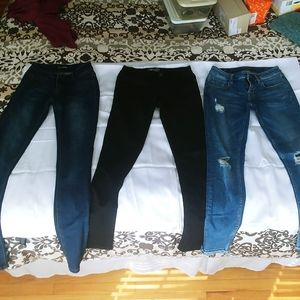 EUC Lot of 3 (2- jeans/1-pant)